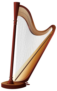Image of a harp
